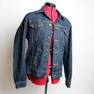 Uniqlo Denim Jean Jacket Blue Size L